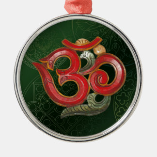 red green OM Ornament