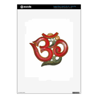 red green OM skin for readers and tablets iPad 3 Skins