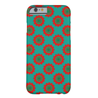 Red Green Ornament on iPhone 6 Barely There Case Barely There iPhone 6 Case