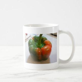 Red & Green Pepper Coffee Mug