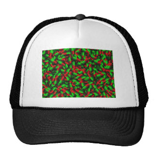 red green pills drugs trucker hat
