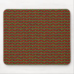 Red & Green Retro Christmas Mousepads