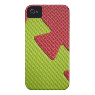 Red Green Rubber Mat Print iPhone 4 Case-Mate