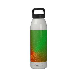 Red-green Reusable Water Bottles