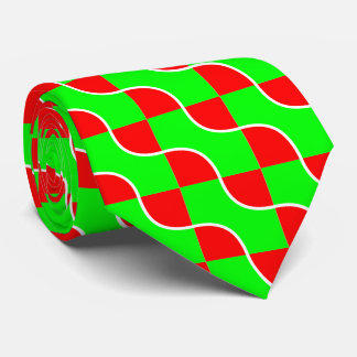 Red-green waves tie