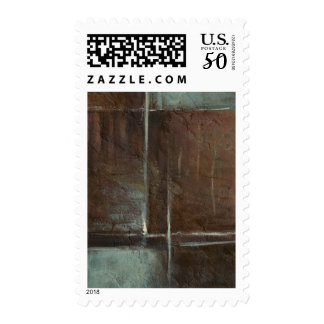 Red & Grey Brick Wall Postage
