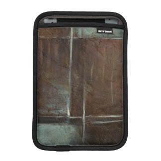 Red & Grey Brick Wall Sleeve For iPad Mini