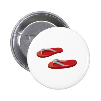 red grey flip flops offset png pinback button
