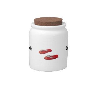 red grey flip flops offset .png candy jars