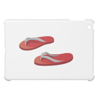 red grey flip flops offset .png case for the iPad mini
