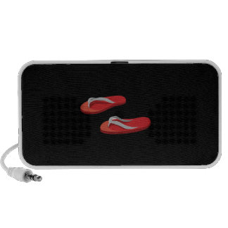 red grey flip flops offset .png notebook speaker
