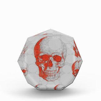 Red Grey Skulls Award