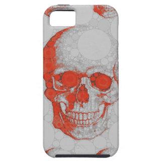 Red Grey Skulls iPhone SE/5/5s Case