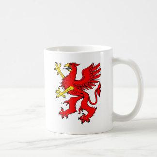 Red Griffin/Griffon/Gryphon Coffee Mug