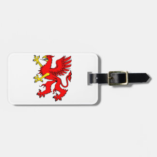 Red Griffin Luggage Tags
