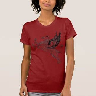 Red griffin T T-Shirt