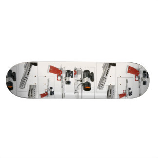 red grip skateboard