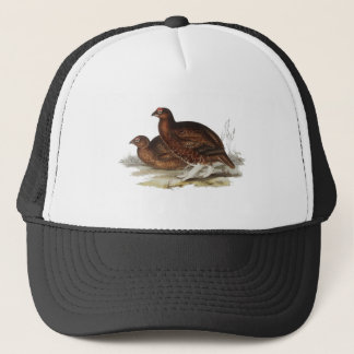 Red Grouse Trucker Hat
