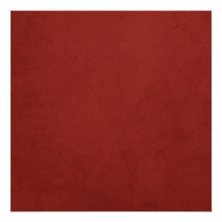 Red grunge background poster