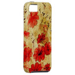 Red Grunge Casemate iPhone 5 iPhone SE/5/5s Case