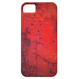 Red Grunge iPhone5 Case