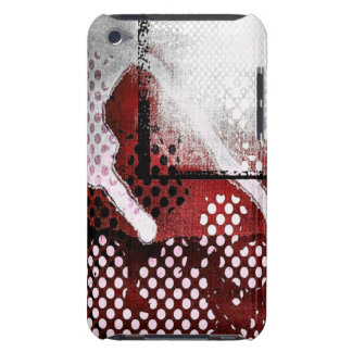 Red Grunge iPod Touch Case