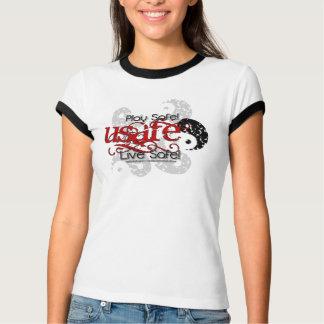 Red Grunge-USafe? T-shirts