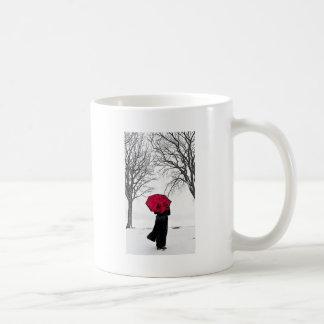 Red guard Rain (Red umbrella) Coffee Mug