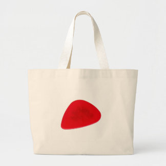 Red Guitar Pick Canvas Bags