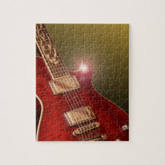 red guitar puzzle