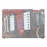 red guitar strings bridge grunge music design case for the iPad mini