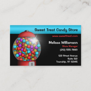 red gumball machine business cards - Zazzle Business Cards
