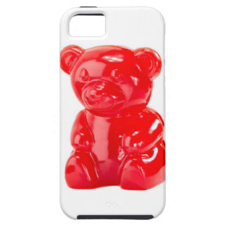 Red gummy bear iphone case iPhone 5 cases