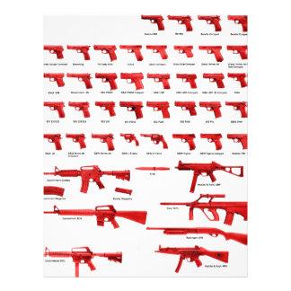 """red guns 8.5"""" x 11"""" flyer"""