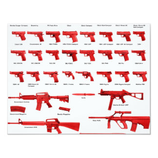 red guns card