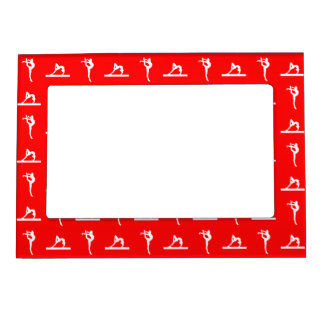 Red Gymnastics Magnetic Picture Frame