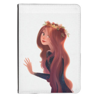 Red Hair and Roses kindle case
