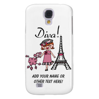 Red Hair Diva Galaxy S4 Cover