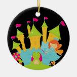 Red Hair Fairy Princess Christmas Tree Ornament