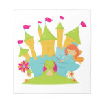 Red Hair Fairy Princess Note Pads
