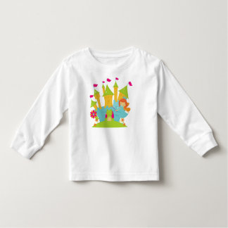Red Hair Fairy Princess Toddler T-shirt