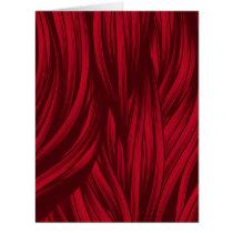 Red hair fur texture