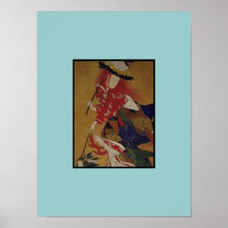 Red Hair Girl ~ Print / Poster