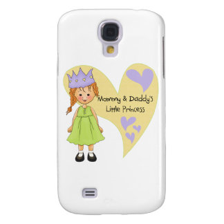 Red Hair Mommy and Daddy's Princess Galaxy S4 Cover