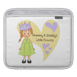 Red Hair Mommy and Daddy's Princess Sleeves For iPads