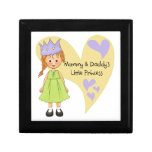 Red Hair Mommy and Daddy's Princess Keepsake Boxes
