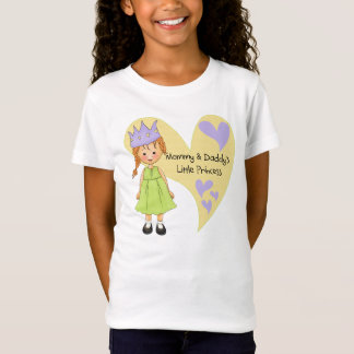 Red Hair Mommy and Daddy's Princess T-Shirt