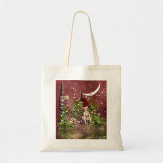 Red Haired Beauty Budget Tote Bag