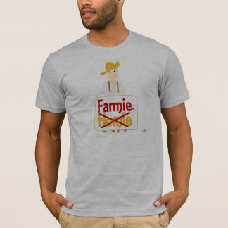 Red Haired Grinning Farmie Brown Pants Farmie X Ho T-Shirt