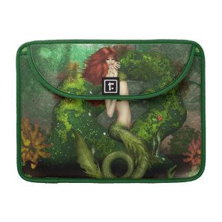 """Red Haired Mermaid  13"""" MacBook Sleeve"""